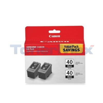 CANON IP1600 PG-40 TWIN PACK INK CTG BLACK